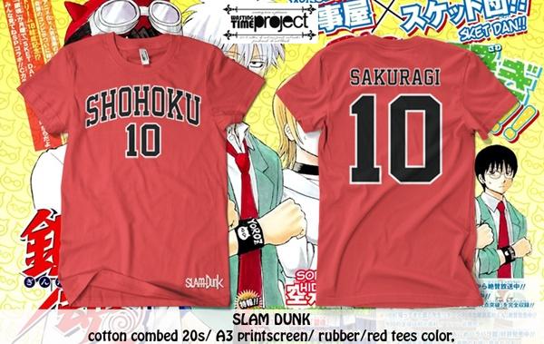 #slamdunk #shohoku #sakuragi