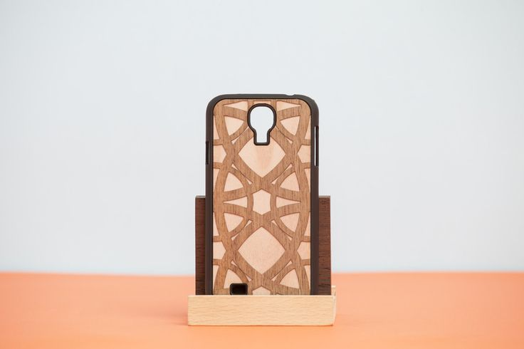 """Cover Samsung """"DOUBLE ESSENCE"""" Cabret - Walnut"""