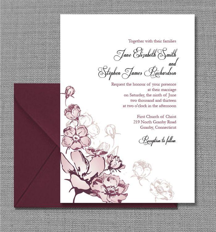 FREE PDF Template. Vintage Floral European Nostalgia