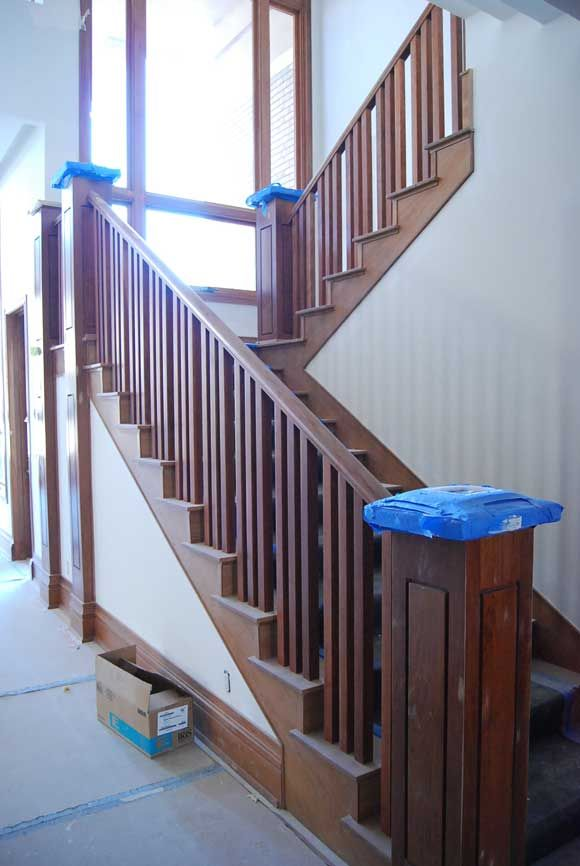 Best Install Wood Stair Railing Jpg Delmar Ideas Pinterest 400 x 300