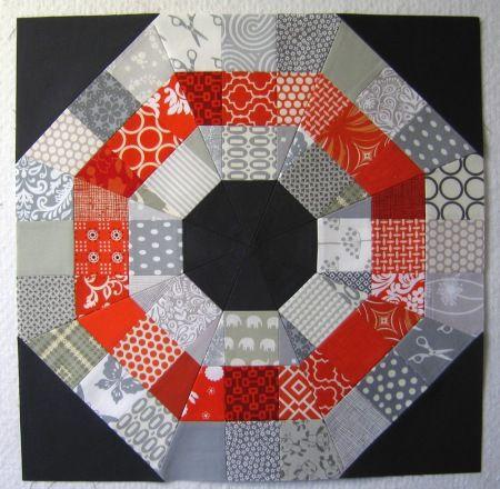 Quilting tutorial, can't wait to try this one: Elizabeth Hartman, Quiltblock, Tutorials, Octagonal Orb, Quilts, Quilt Blocks, Orb Block, Modern Quilt