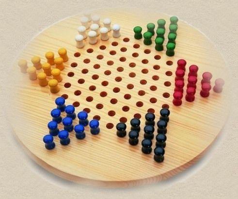El juego de damas chinas