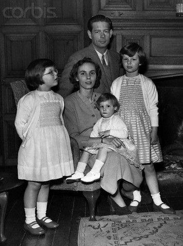 And then there were three.  Michael and Anne with their 3 eldest children, L-R:  Princess Elena, Princess Irina, and Princess Margarita.