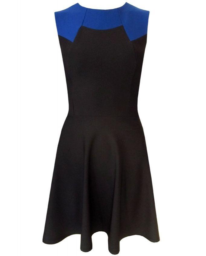 Odette #dress from #divacatwalk #Srping2014 collection #skater #colourblock