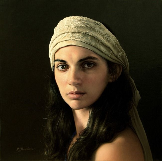 Duffy Sheridan portrait paintings
