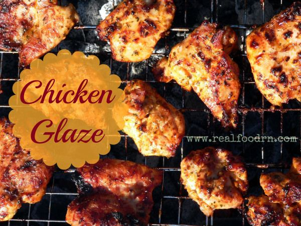 best healthy chicken glaze recipe ever!