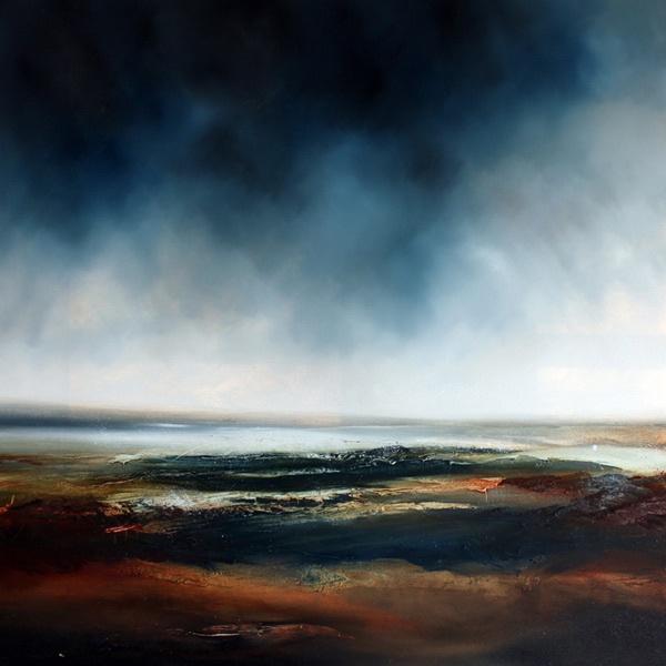 Familiar Ground 1 - Oil on Canvas - 101cm X 101cm - £995.00