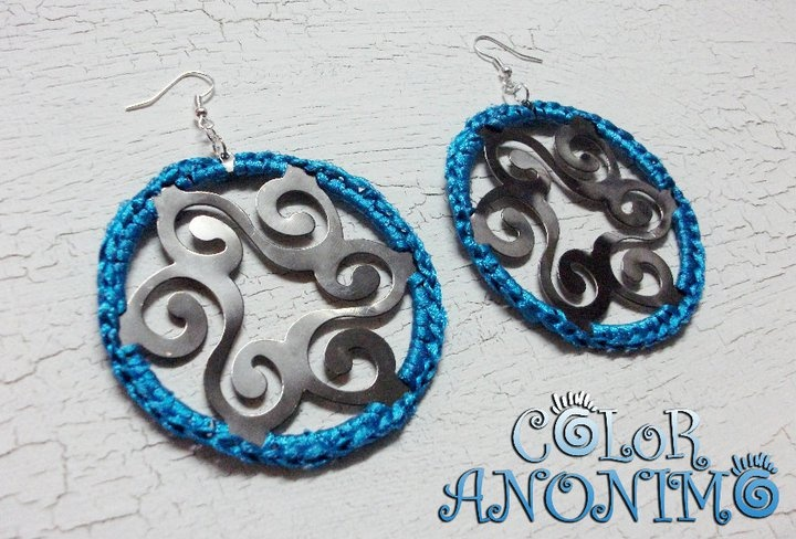 Coloranonimo~Aros metal crochet