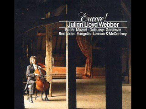 Bach Jesu Joy of Man's Desiring played by Julian Lloyd Webber