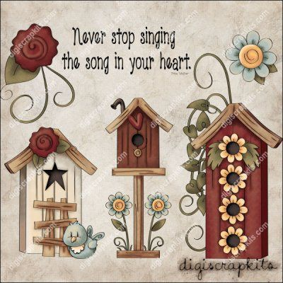 Song in Your Heart 1 Clip Art Set