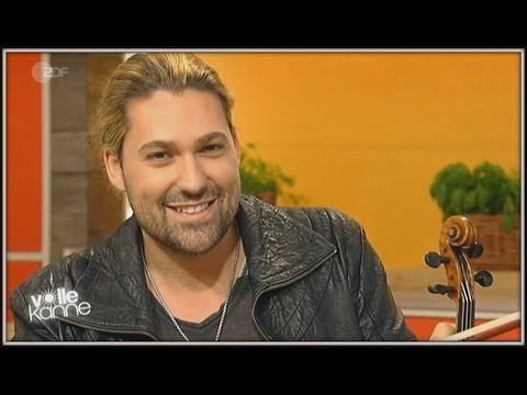 "The interview of David Garrett and Valentina Babor on German TV ZDF ""Volle Kanne"" (19-11-2015) - YouTube"