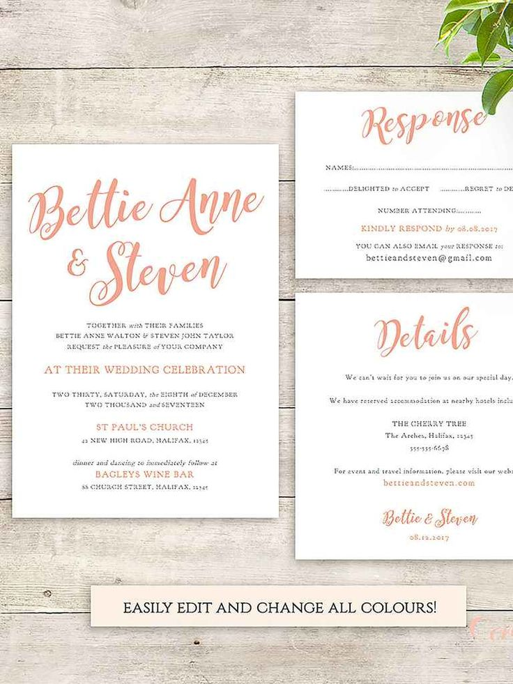 16 best Invites images on Pinterest | Cards, Invitations and Wedding ...