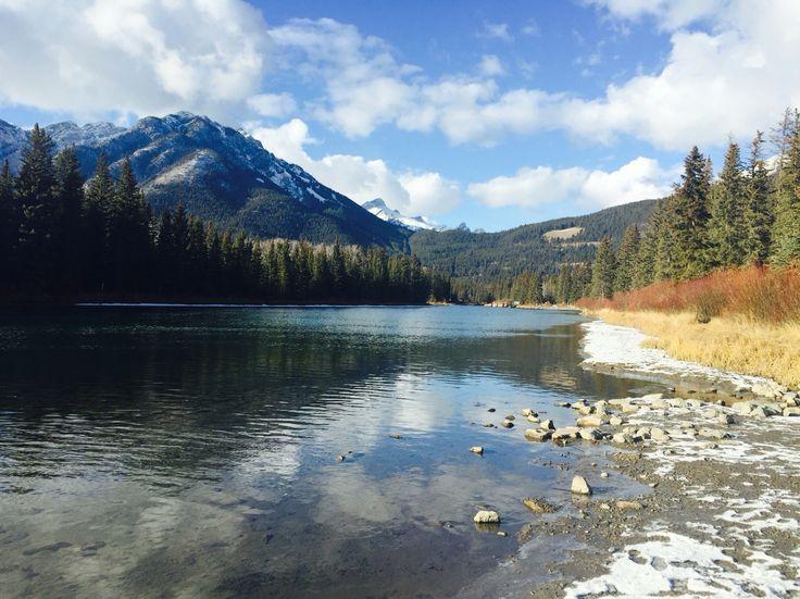 Bow River, Banff, AB, Canada, 4.11.2015