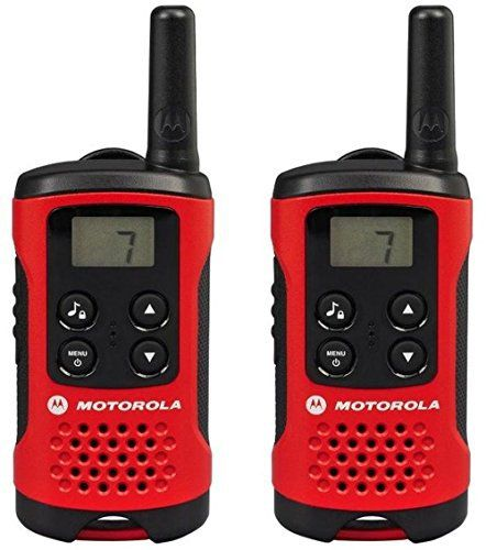Motorola Paire de talkies walkies Motorola T40 portée en champs libre 4km Rouge: Price:23.54Motorola Paire de talkies walkies Motorola T40…