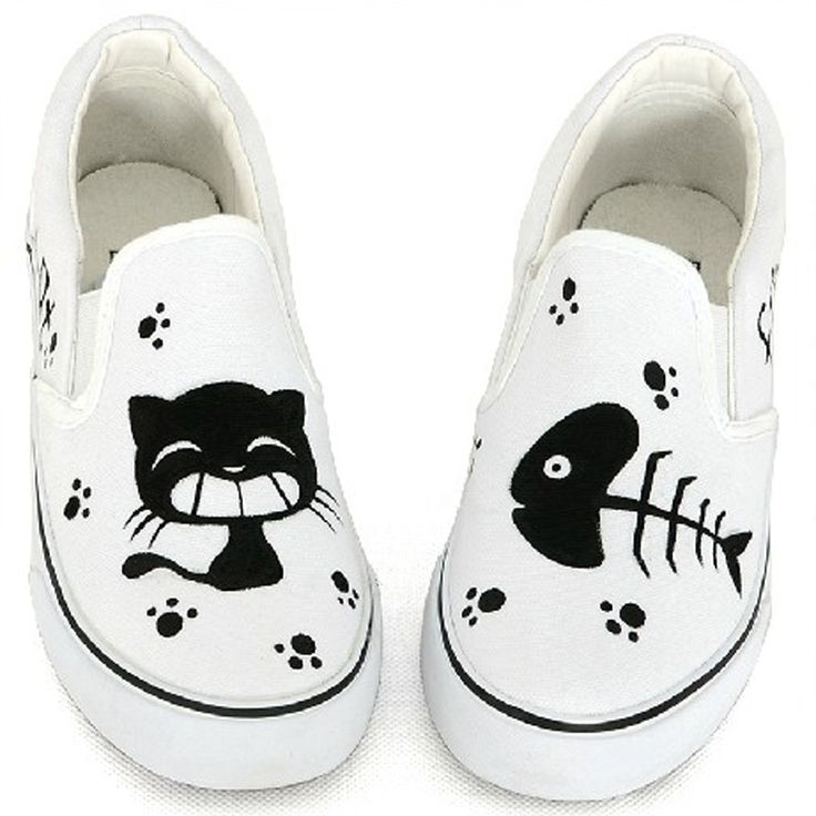 zapatos estampados de gatos - Buscar con Google