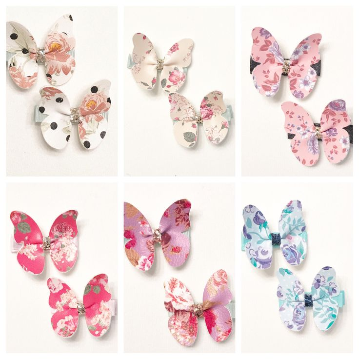 A personal favorite from my Etsy shop https://www.etsy.com/ca/listing/526038094/butterfly-clip-floral-butterfly-clip