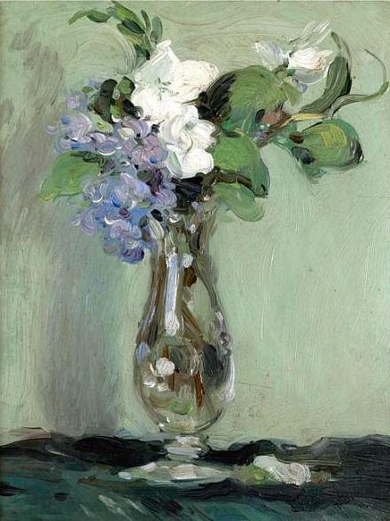 John Duncan Fergusson  Still Life of Primulas  1903