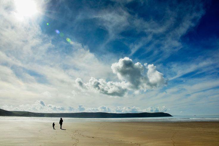 Woolacombe Beach / North Devon / GB