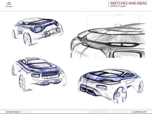 Gashetka | Transportation Design | 06.06.2014 | Citroen Canyon SUV Project | Diploma...