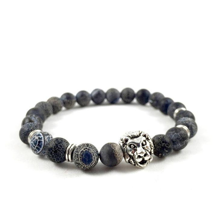 Weathered Marble Lion Bracelet – Executive Society