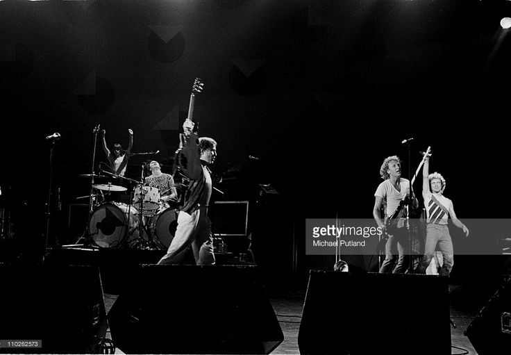 Foreigner performing in London, 1981.photo Michael Putland