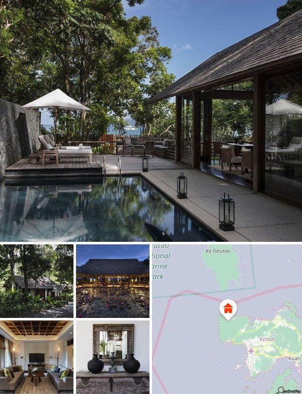 L'hôtel est niché au cœur d'une forêt tropicaleà la pointe nord-ouest de Langkawi. Une plage de sable blanc paisible se trouve juste à côté de l'établissement et offre une vue sur les eaux calmes de la mer d'Andaman. L'aéroport international de l'île se trouve à environ 20 km à l'ouest de Kuah, la capitale de Pulau Langkawi. Compter 1 h en voiture pour rejoindre l'hôtel. Langkawi est situé dans la partie nord de la presqu'île malaise, là où la route de Malakka débouche sur l'Océan Indien…