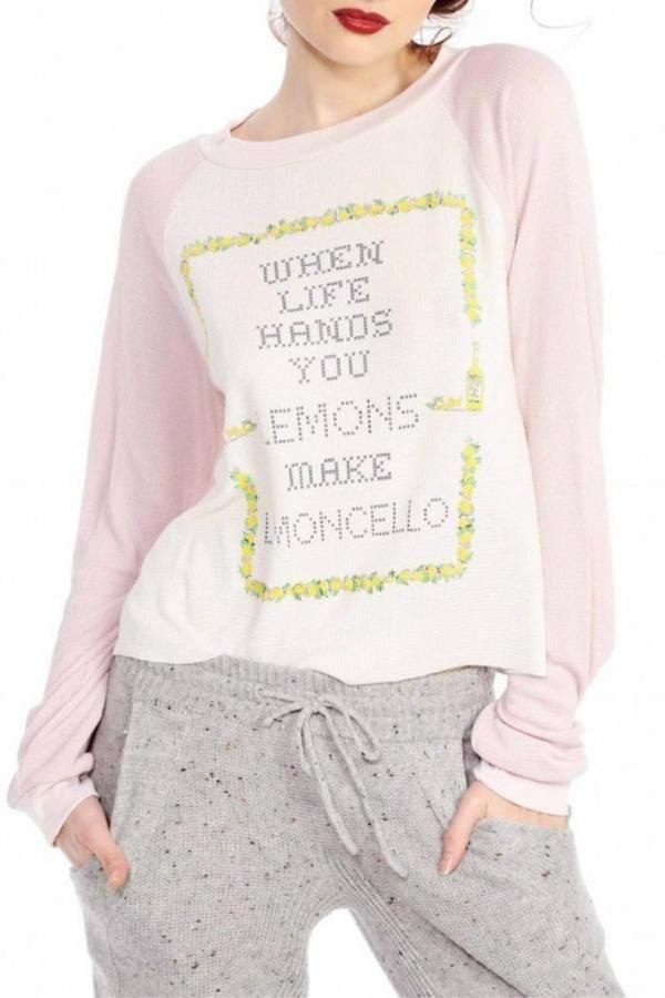 Wildfox Limoncello Shirt