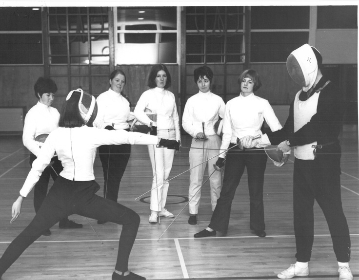 Physical Education (Fencing). Undated. © George Crawford.