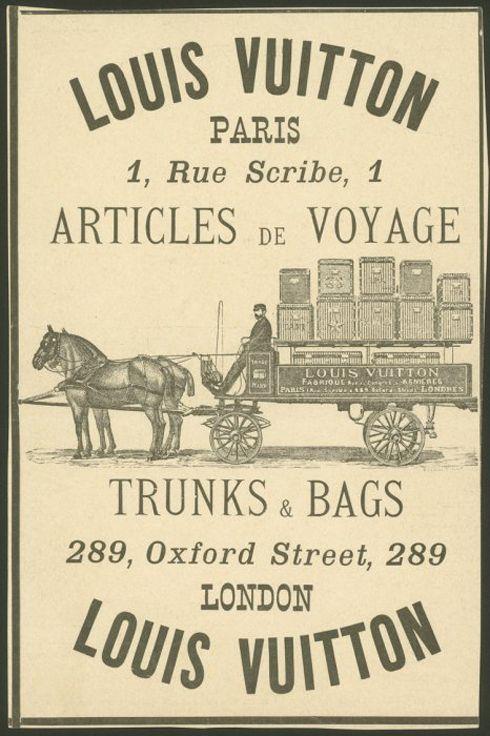 Louis Vuitton ad  Trunk Vintage