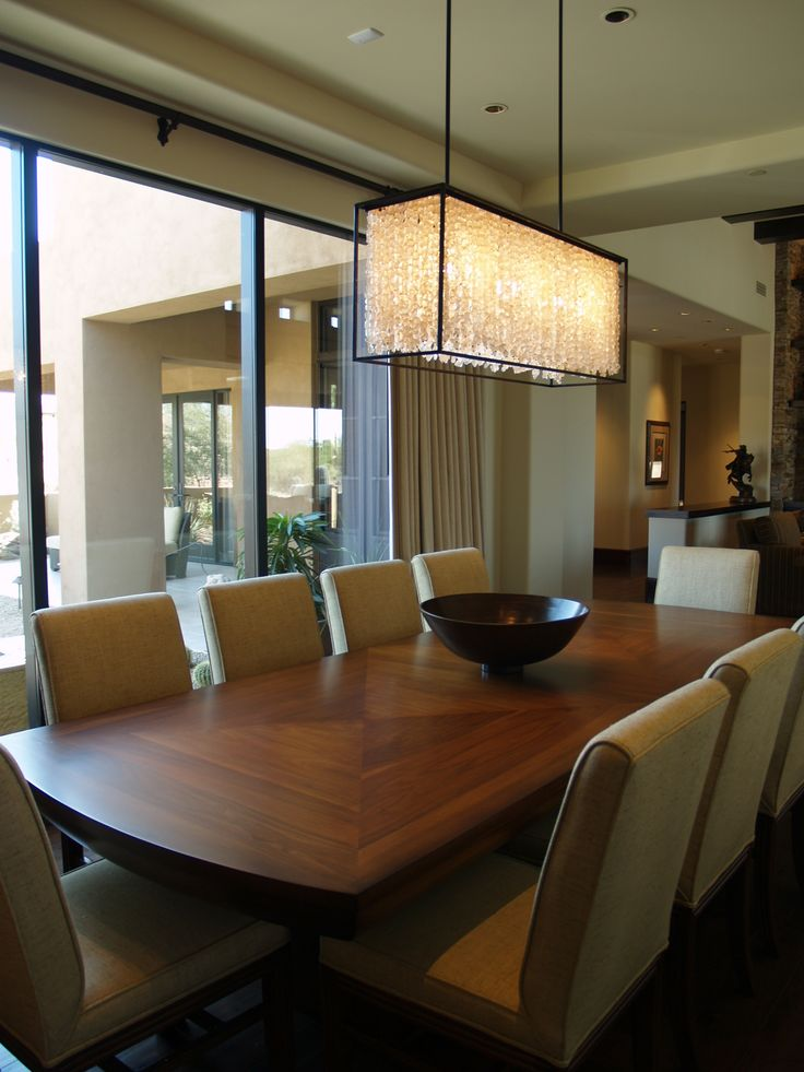 Crystal chandelier dining room renay toronto interior pinterest we dining rooms and - Dining room crystal chandelier ...