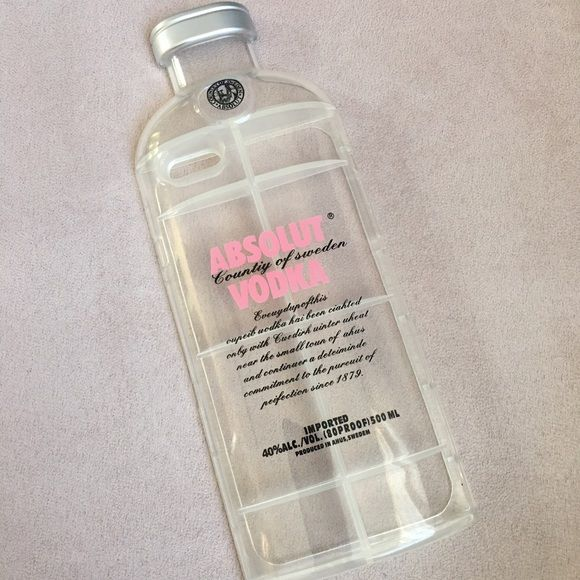 PINK ABSOLUT VODKA 6Plus case  Brand new 6 plus ABSOLUT vodka phone case! Case will turn heads and start conversations ! Price is firm : no trades  Other