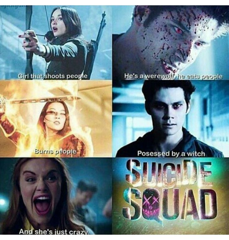 Teen Wolf/Suicide Squad crossover