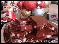 quadradinhos de chocolate