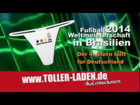4. Stern für Deutschland WM 2014 in Brasilien - T-Shirts, Tassen, String...