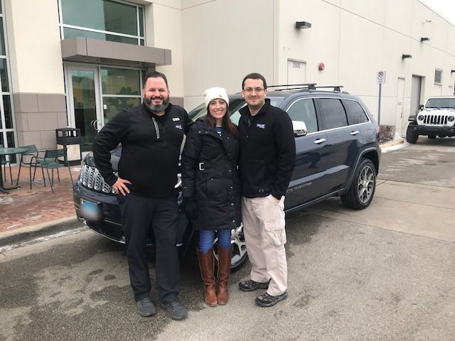 We D Also Like To Congratulate Thank Corrine On The Purchase Of Her 2nd Jeep Cherokee From Larry Szwiec Our Team At Fields Chrysler Jeep Jeep Dodge Jeep