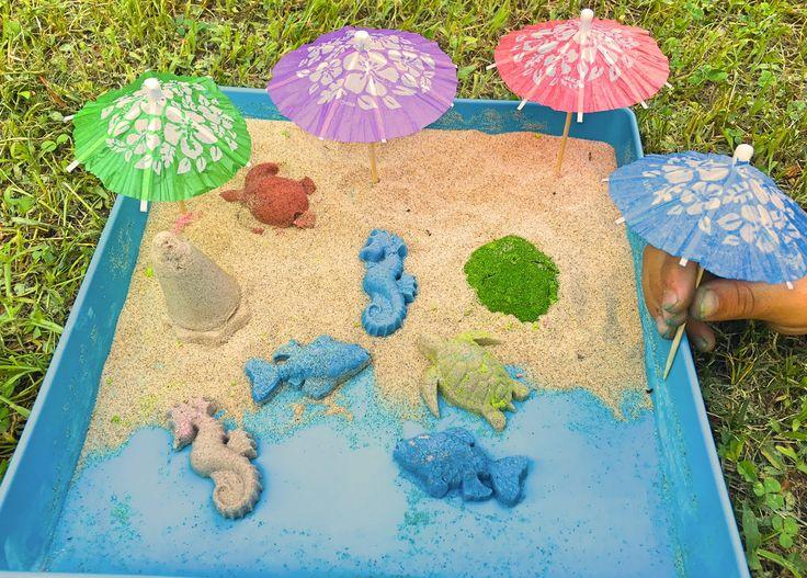 Hazte un castillo de arena en tu casa!