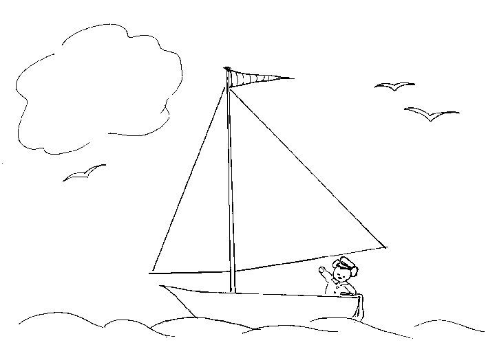 gangway to galilee coloring pages - photo#1