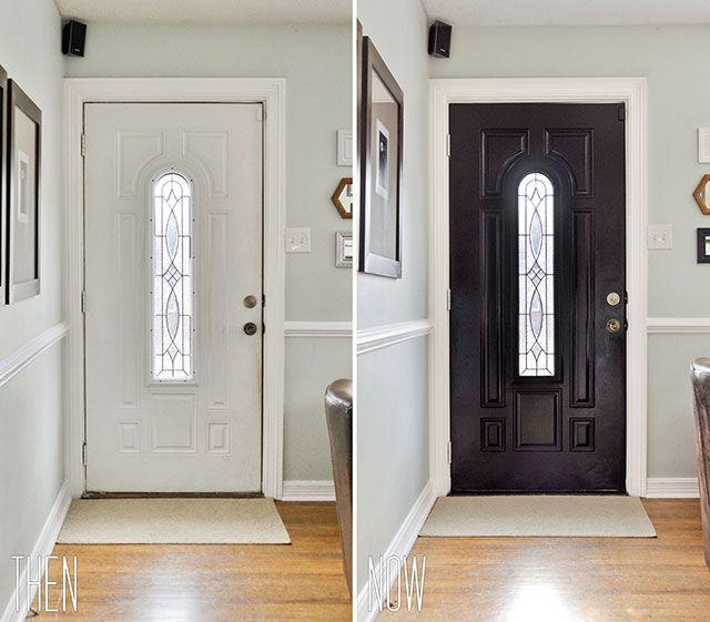 25+ Best Ideas About Paint Doors Black On Pinterest
