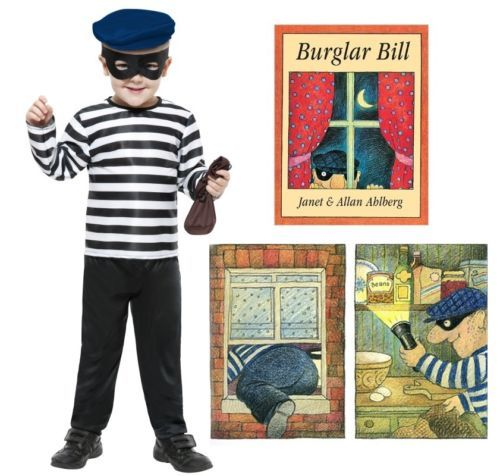 Saviours of World Book Day! Boys-Burglar-Bill-Costume-World-Book-Day-Fancy-Dress