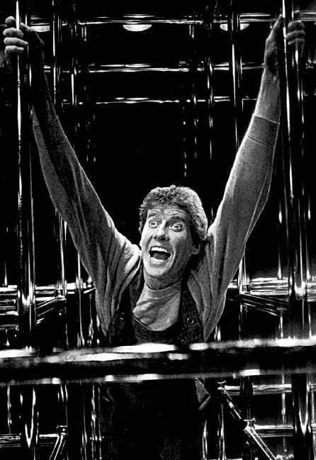 "Michael Crawford in ""Flowers for Algernon"" 1979"