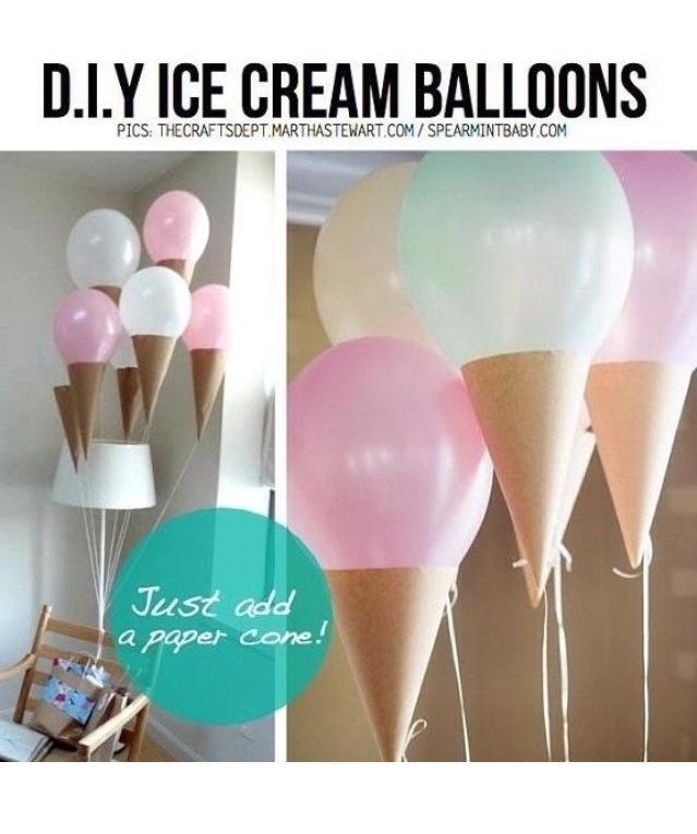 Cute idea for a girlie birthday party!
