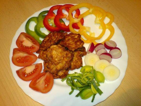 Kuřecí placičky MŇAM (lze jako oběd i pohoštění pro návštěvu)