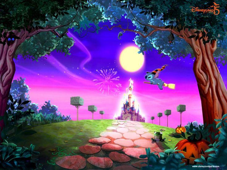 Disney World Halloween Desktop Background - Find all the Tsum Tsum ...