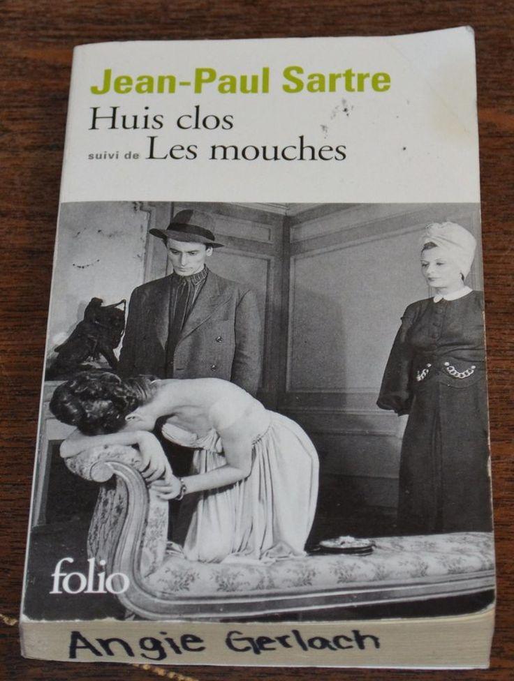 Huis Clos, suivi de Les Mouches (Folio) (French Edition) Jean-Paul Sartre