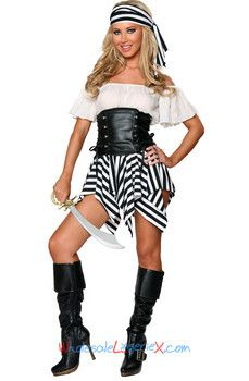 Wholesale Exclusive Deluxe Pirate Costume SPC520