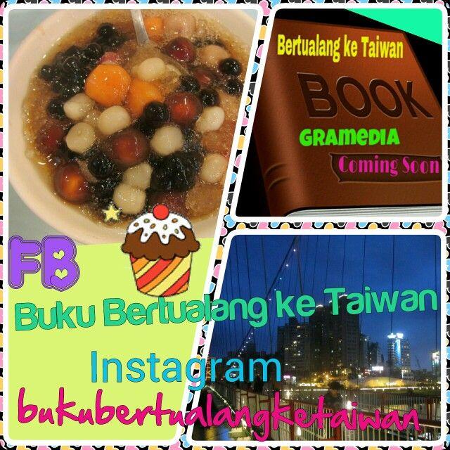 "#Yuan_Tang #Onde_Onde #Warna #Warni #Ala #Taiwan  #Buku ""Bertualang ke Taiwan"" #Terbitan #Gramedia #ComingSoon!!! 快 出現 囖  #Baca #BukuBertualangKeTaiwan, Ikuti Petunjuknya,Rasakan Sensasi Petualangannya (^ω^)  #愛 台灣 以前,的時候, 以後 (^ω^) Love Taiwan Before, During, and After  Taiwan is a Beautiful Heart Because Taiwan Will Touch you (^ω^) #BKT"