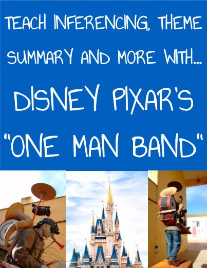 Inferencing with Pixar Short Film: One Man Band #editableprintables #freeprintables