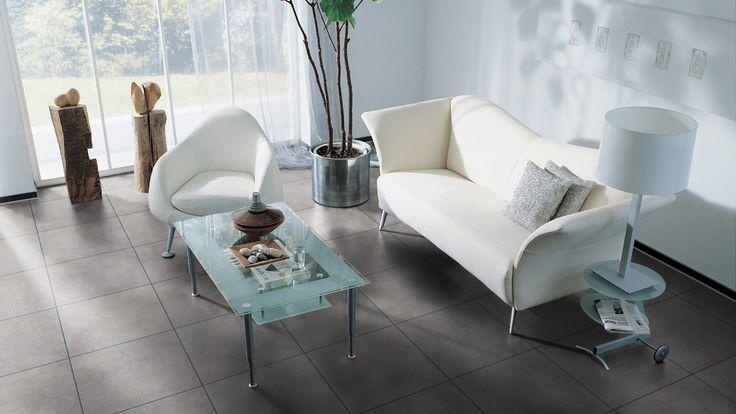 5935 Objectflor Expona Domestic Vinyl Designbelag Pale Grey Concrete