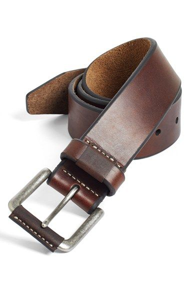 Johnston & Murphy Leather Belt available at #Nordstrom