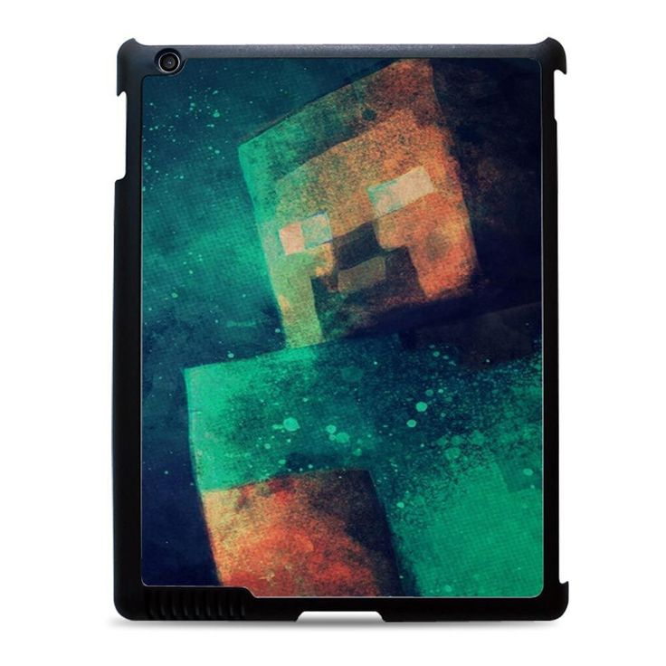 steve minecraft Case available for iPad 2 3 4, iPad Air, and iPad mini case ! on daizzystuff.com/